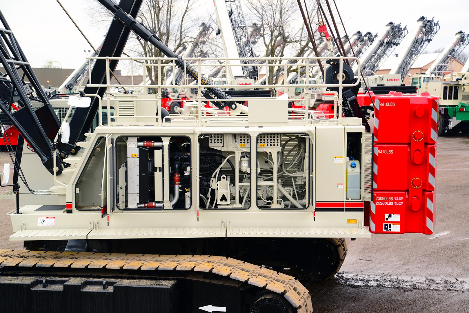 218 HSL   Link-Belt Cranes