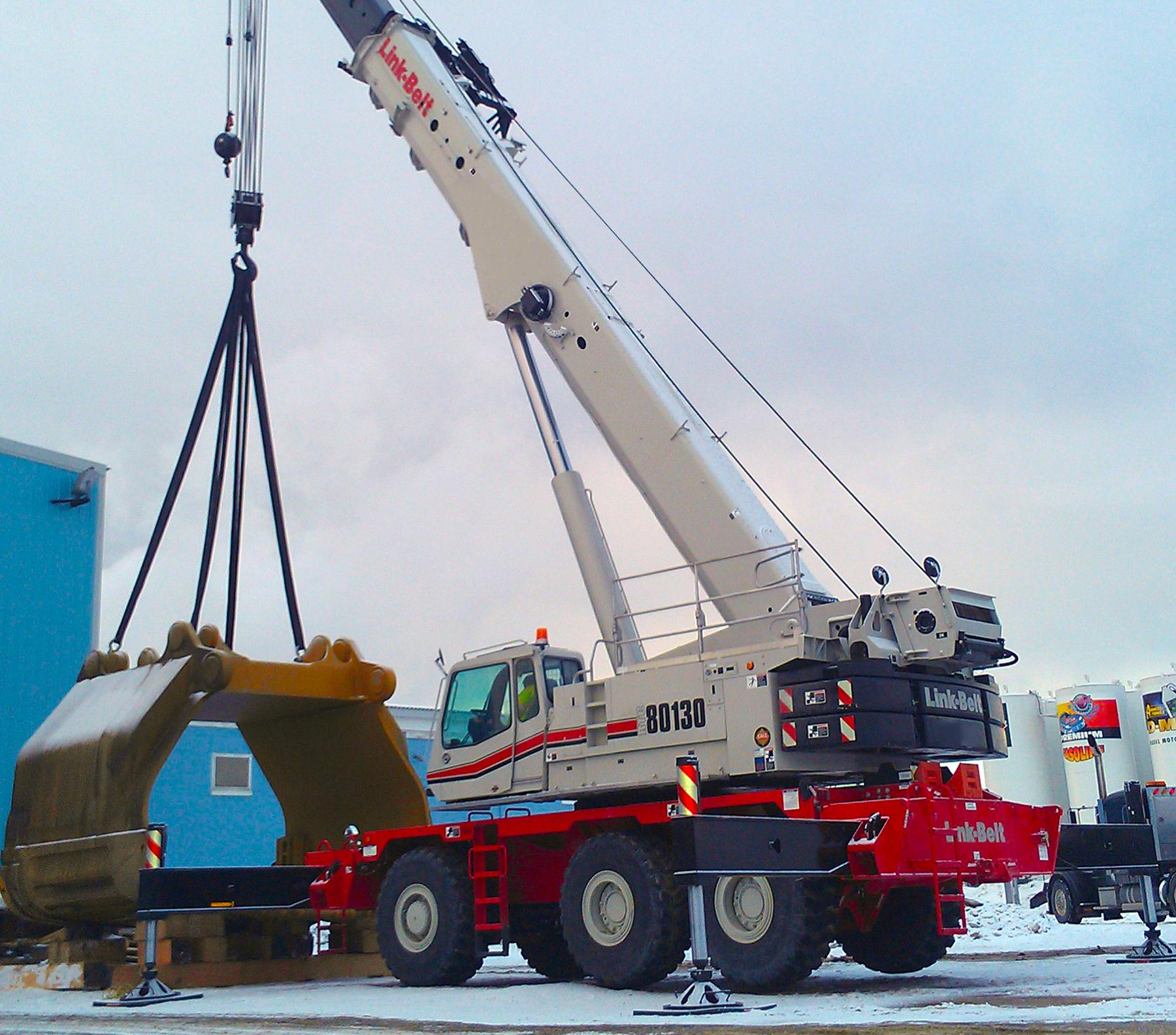 RTC-80130 Series II | Link-Belt Cranes