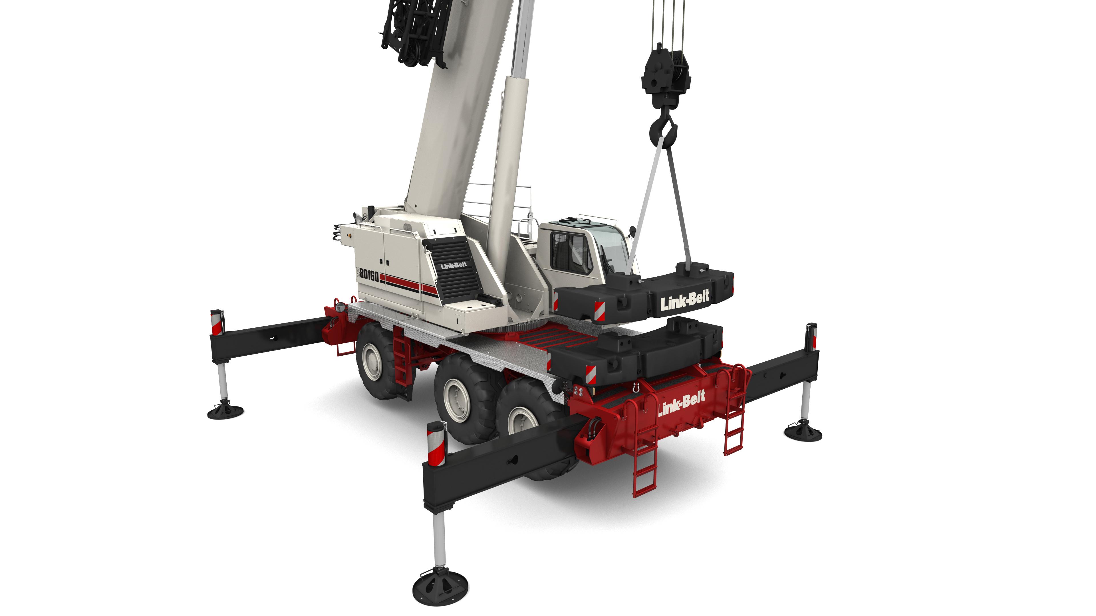 RTC-80160 Series II | Link-Belt Cranes