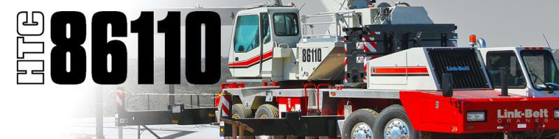 htc 86110 link belt cranes